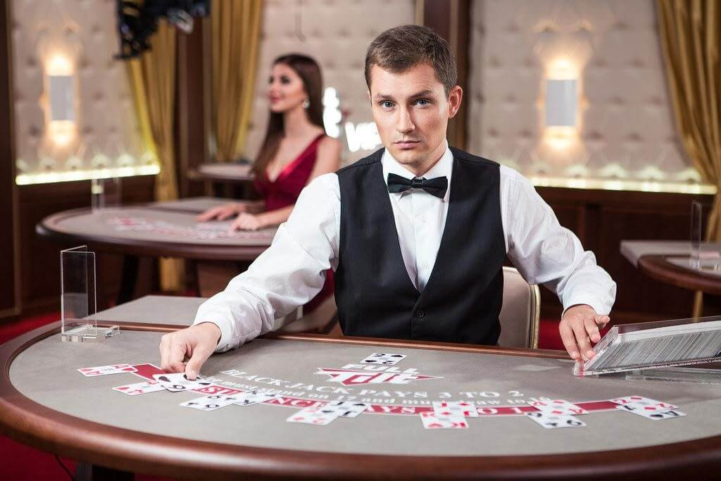 Livedealer-casino i full gång