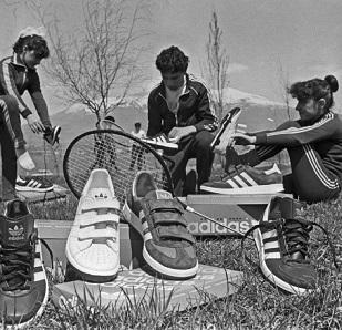 Adidas var en gång bara för atleter