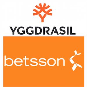 Betsson och Yggdrasils fortsatta partnerskap