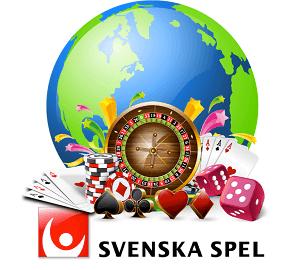 Svenska Spel jämfört med internationella onlinecasinon